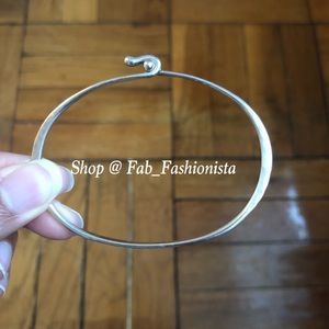 James Avery hammered sterling silver bracelet